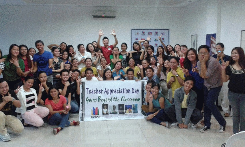 GEG CDO Teacher Appreciation Day: Going Beyond the Classroom