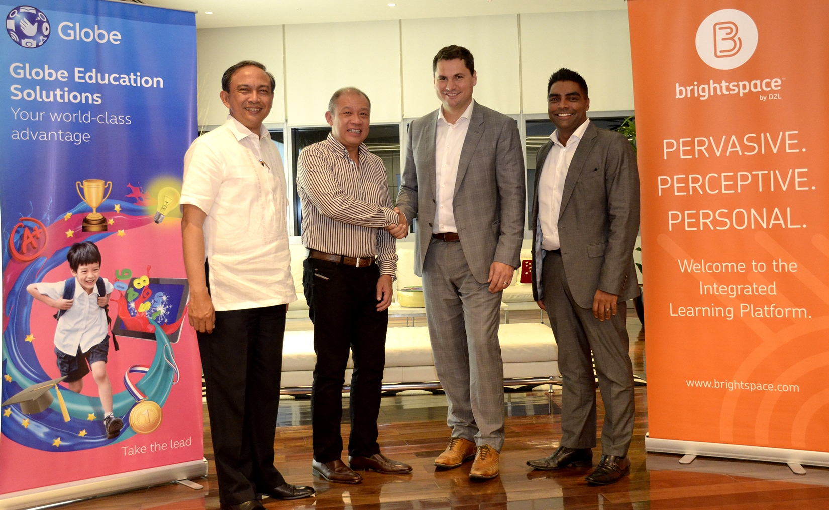 Press Release: Telco, tech partner launch in PHL world's first integrated learning platform