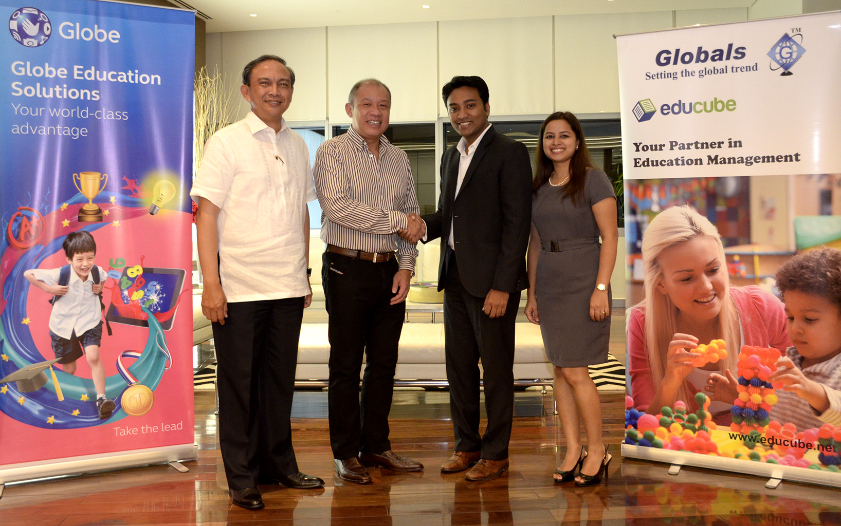 Press Release: Globe sparks revolution in PH education with new cloud-based software
