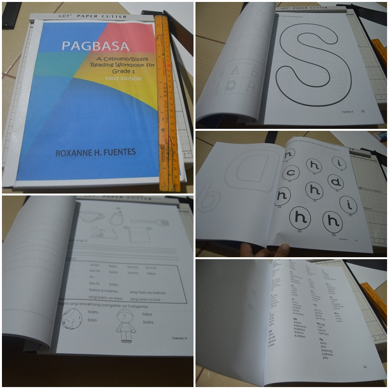 My first Cebuano/Bisaya Reading Workbook is now ready for the incoming School Year.