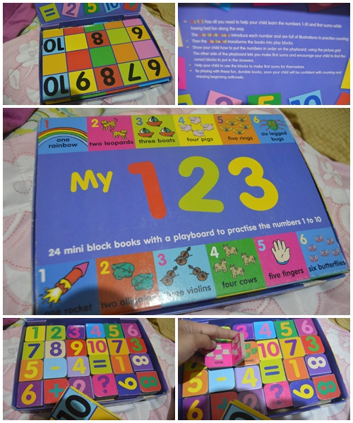 Learning Material: My 123 Block Book
