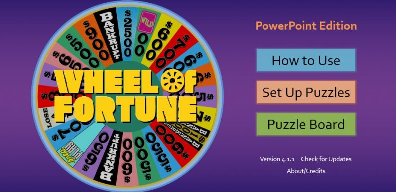 Download: Interactive Wheel of Fortune PPT to teach Vocabulary