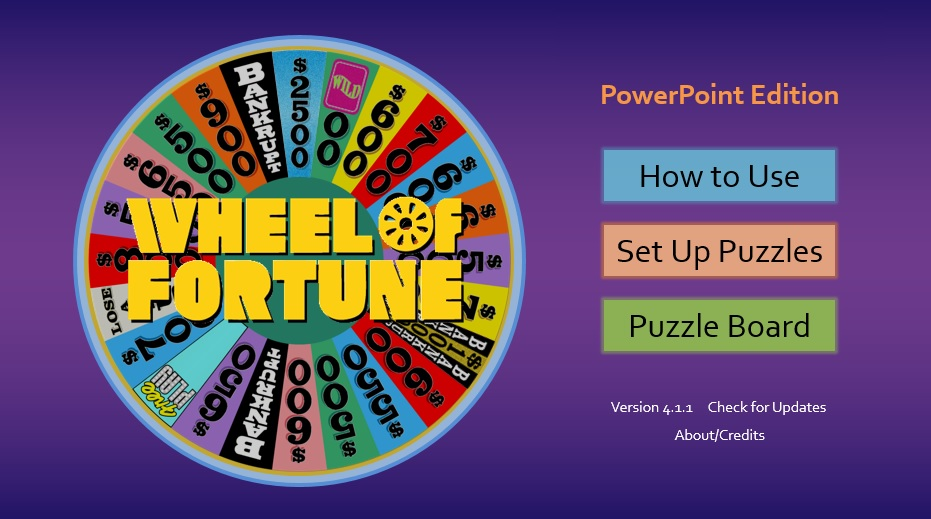Download Interactive Wheel Of Fortune Ppt To Teach Vocabulary
